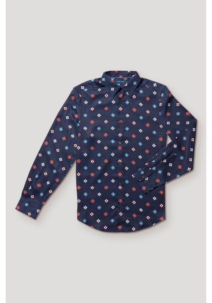 Camisa_Casual_Estampada_Navy_2130205381_1